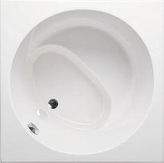 "Americh Beverly 4040 40""X40""X32"" overflow: 27 3/4"" 78 gal. Japanese Soaking Tub $1950"