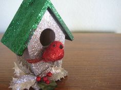 Birdhouse Christmas Ornament Christmas in July Sale
