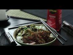 Video receta de donburi de cerdo con verduras y salsa teriyaki - Sundari Blog