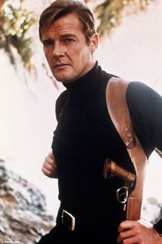 Inspiration? Craig's Bond was sporting a similar look to Sir Roger Moore in the 1973 film, Live And Let Die