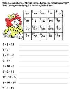 Exercícios e desenhos para colorir * (Ver-milhares-de-atividades-todas-as-matérias-datas-etc...) Cruzadas Completar Frases Formar palav...