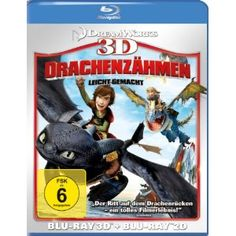 How to Train Your Dragon (Blu-ray 3D + Blu-ray) Do «3D Blu-Ray Movies