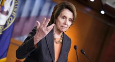 House Minority Leader Nancy Pelosi of Calif. gestures during a news conference on Capitol Hill in Washington, Friday, Feb. 27, 2015, as Congress closed in on approving a short-term spending bill for the Homeland Security Department that would avert a partial agency shutdown hours before it was to begin. The legislation also leaves intact Obama administration executive actions on immigration that Republicans have vowed to overturn.  (AP Photo/J. Scott Applewhite)