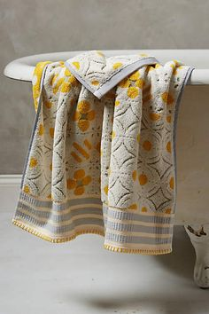 Piastrella Towel Collection - anthropologie.com
