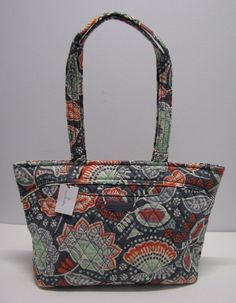 e03cde72f20 Vera Bradley Mandy Shoulder Bag Purse In Nomadic Floral New  VeraBradley   ShoulderBag Versace Handbags