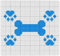 Dog Blanket Crochet Pattern - Crochet it Creations C2c Crochet, Single Crochet Stitch, Tapestry Crochet, Crochet Chart, Crochet Blanket Patterns, Cross Stitch Designs, Cross Stitch Patterns, Minecraft Banner Designs, Bobble Stitch
