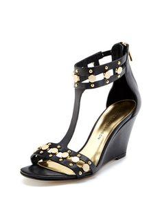 Hadiya Studded Wedge Sandal from Shoes: Sigerson Morrison