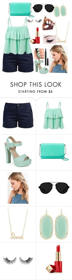 """""""Untitled #27"""" by zayamayen ❤ liked on Polyvore featuring Barbour, LE3NO, Call it SPRING, Kate Spade, Urban Outfitters, 3.1 Phillip Lim, Sydney Evan, Kendra Scott, Estée Lauder and Marc Jacobs"""