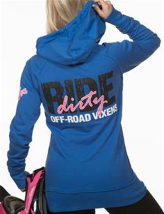 Ride Dirty Pullover Hoodie-** Slim Fit**