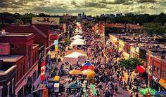 Street Festival in Bloor West