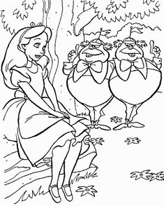 Alice in Wonderland Coloring Pages. Here you will find Alice in Wonderland coloring pictures. The Cheshire Cat, Queen of Hearts, and other figures from Alice in Cat Coloring Page, Cool Coloring Pages, Cartoon Coloring Pages, Disney Coloring Pages, Printable Coloring Pages, Adult Coloring Pages, Coloring Pages For Kids, Coloring Books, Coloring Sheets