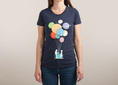 Check out the design You Are My Universe by Lim Heng Swee on Threadless