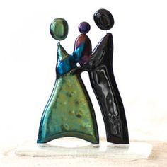 """Abstrakt skulptur - """"Family"""""""