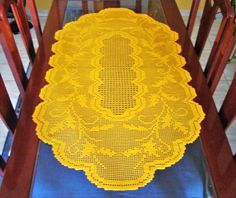 Crochet Filet centerpiece