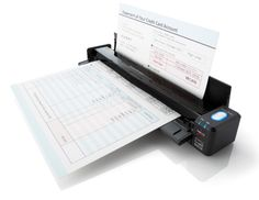 Fujitsu ScanSnap ix100 portable wireless document scanner | review on coolmomtech.com