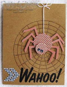 September 2013 Paper Pumpkin Kit - Wahoo SU cards  Stampin' Up!
