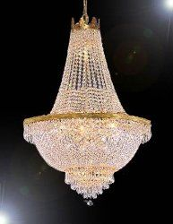 Traditional Crystal Chandelier--French Empire Crystal Chandelier ...