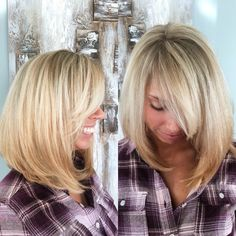 SPRING BLOND! Full highlight and all over root color! | Hair ...