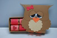 Tracy's Card Closet-owl with matchbox