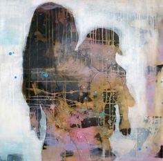 NAERHET BY ANNE-BRITT KRISTIANSEN  #fineart #art #painting #kunst #maleri #bilde  www.annebrittkristiansen.com/anne-britt-kristiansen-kunst-2012 Nudes, Portraits, Paintings, Fine Art, Woman, People, Art, Photo Illustration, Paint
