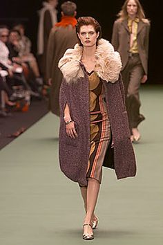 Dries Van Noten Fall 2000 Ready-to-Wear Fashion Show - Malgosia Bela (Elite), Dries Van Noten
