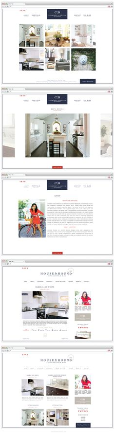 Courtney Blanton Interiors - Blog + Web Design - Saffron Avenue