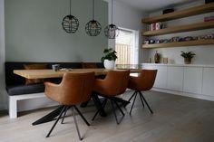 www.lifs.nl #lifs #interiordesign #interieuradvies #ontwerp #stalendeur #maatwerk #lichtplan Decor, Table, Furniture, Interior Design, Home Decor