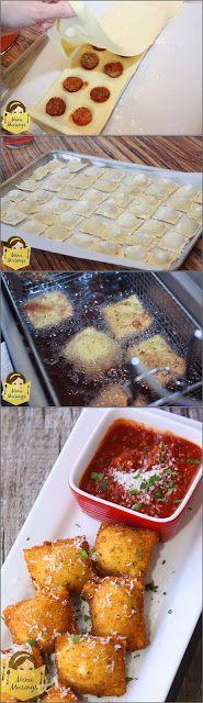 http://menumusings.blogspot.com/2011/08/fried-meatball-stuffed-ravioli.html