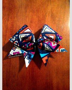 Tribal cheer bow!