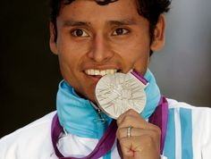 Erick Barrondo wins Guatemala's first ever Olympic medal after coming second in the mens' 20km. walk at London 2012.