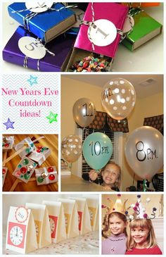 New Year's Eve with kids ideas
