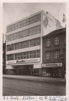 Obchodní dům firmy Baťa, Praha-Žižkov (Baťa Department Store, Prague-Žižkov) (Arch.: Vladimír Karfík)