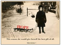 Hope - the best gift of all