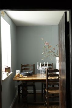 All Remodelista home inspiration stories in one place—from house tours and expert advice to product and interiors roundups. Room Colors, Wall Colors, Paint Colors, Scottish Cottages, Country Cottages, Grey Walls, Colorful Interiors, Sweet Home, New Homes