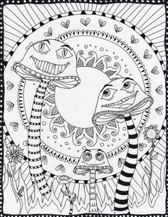 free bundle of majestic unicorn coloring pages | printable ... - Art Nouveau Unicorn Coloring Pages