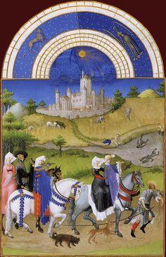 1412-1416 from Les Tres Riches Heures du duc de Berry