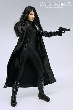 "Custom DIY For 12/"" Phicen TBLeague Toy Male /& Female Figure 1//6 Scale Black Cape"