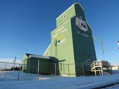 St Albert AB grain elevator