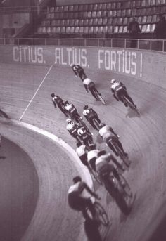 "Citius, Altius, Fortius! (Latin for ""Faster, Higher, Stronger"")"