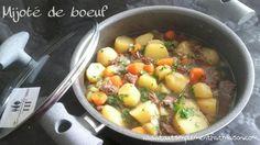 Mijoté de boeuf C'est Bon, Cheeseburger Chowder, Cantaloupe, Challenge, Soup, Meat, Chicken, Fruit, Beef Bourguignon