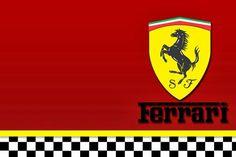 Ferrari: Free Printable Cards or Invitations. Ferrari Cake, Ferrari Party, Ferrari Racing, Ferrari F1, Ferrari Logo, Porsche Logo, Cars Birthday Invitations, Party Invitations, Carros Ferrari