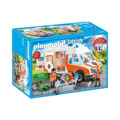 Playmobil 70049 Playmobil Ambulance et secouristes Playmobil Rose Taille unique Playmobil Toys, Emergency Ambulance, Emergency Call, Emergency Equipment, Medical Equipment, Amazon Delivery, Auto Service, Pallets, Lights