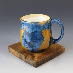 Classic Cup Blue Orange 85 oz / 250ml 2