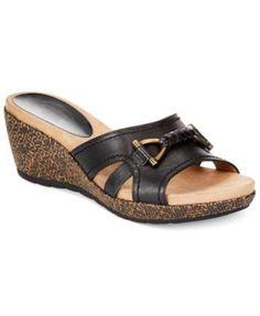 Circa by Joan & David Pence Platform Wedge Sandals