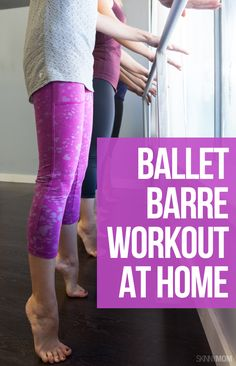 Hold on to your countertop and rock through this fun barre workout at home!