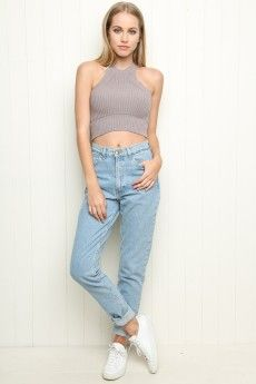 Welcome to Brandy Melville Love the top but the pants look gross