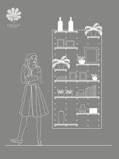 Prateleira com o painel modular de furos podemos trocar as prateleiras de posição, ajustando de acordo com os objetos a serem expostos Chandelier, Ceiling Lights, Home Decor, Modular Shelving, Dashboards, Landscaping, Objects, Candelabra