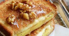 Εύκολη και λαχταριστή μηλόπιτα με ψωμί του τοστ σε 5' French Toast, Sweets, Breakfast, Food, Morning Coffee, Gummi Candy, Candy, Goodies, Treats