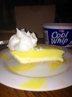 Lemon Pudding Pie w/ #COOLWHIP via www.carriesrambles.com