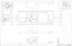 Alvaro Siza, Casa Avelino Duarte, (1981-1985) Situated on a long rectangular plot of land, the house is divided up into three floors along the lines of Loos's Raumolan. The reference to Loos is also...